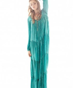 LILOU dress. Blue Cabana Bohemian Dress & Tunic