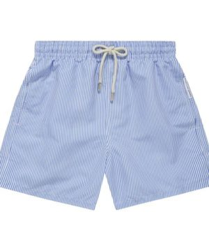 Swimsuit man Mykonos Blue & Cream Beach Shop Online,