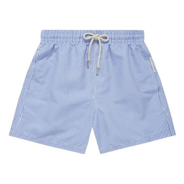Maillot de bain homme Mykonos Blue & Cream Boutique de plage en ligne