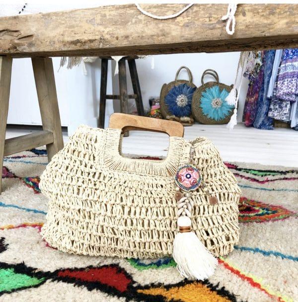 Sac Boholove Blue Cabana - boutique de plage bohème