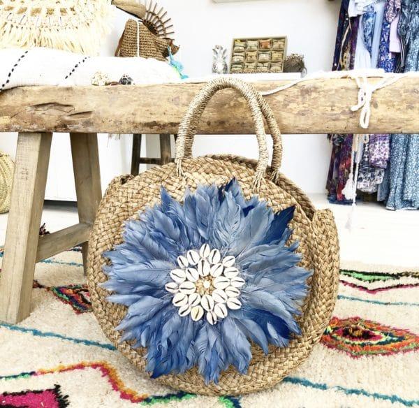 Lola bag Blue Blue Cabana - boutique de plage bohème