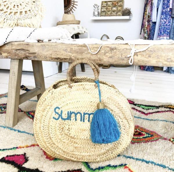 boutique de plage Cannes, Vetement de plage, robe de plage Cannes, robe de plage St Tropez, robe de plage Nice, vente en ligne accessoires boheme, accessoires Cannes, blue cabana, panier de plages boheme